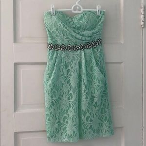 David's bridal short multipurpose dress